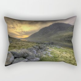 Tryfan By Morning Rectangular Pillow