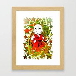 Krillin Framed Art Print