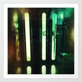 Subway Door Art Print