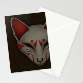 Kitsune Kabuki Stationery Cards