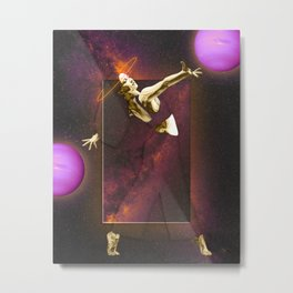 Mysteriously Fascinating Metal Print
