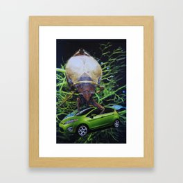 Buggin' Out Framed Art Print