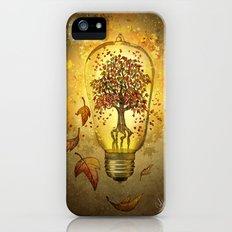 Autumn light iPhone SE Slim Case