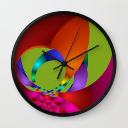 use colors for your home -13- Wall Clock