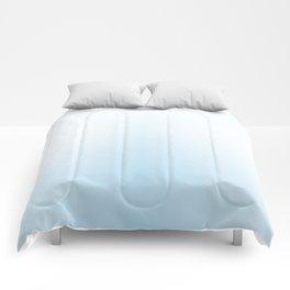 Soft Blue Gradient Comforters