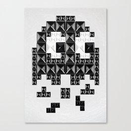 studded and tetrified b Canvas Print