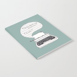 PERKS OF BEING A WALLFLOWER. Notebook