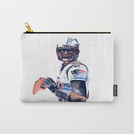 """""""GOAT"""" featuring Legend Tom Brady Carry-All Pouch"""
