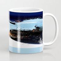 porsche Mugs featuring PORSCHE 917 -  by Michele Leonello