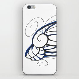 Blue Dolphin iPhone Skin