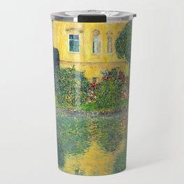 "Gustav Klimt ""Schloss Kammer on the Attersee IV"" Travel Mug"