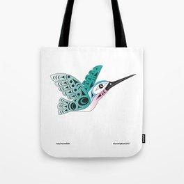Hummingbird by: Jody Broomfield Tote Bag