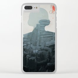 Paths of Glory - a Stanley Kubrick Movie, poster, Kirk Douglas, Orizzonti di Gloria, WWI war movie Clear iPhone Case