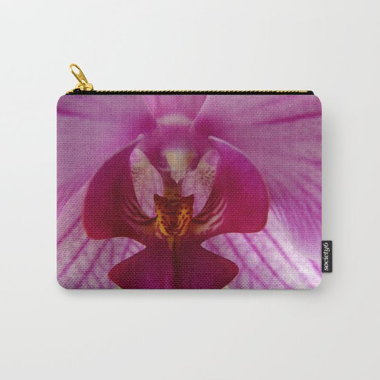 Close up Orchid #1 Carry-All Pouch