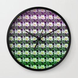 daisypattern Wall Clock