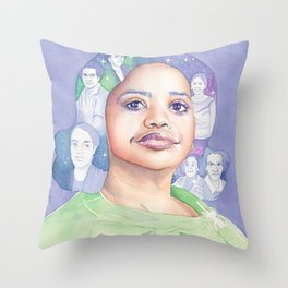 Dorothy Vaughn Hidden Figures Throw Pillow