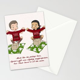 Nagron Saturnalia (Spartacus) Stationery Cards