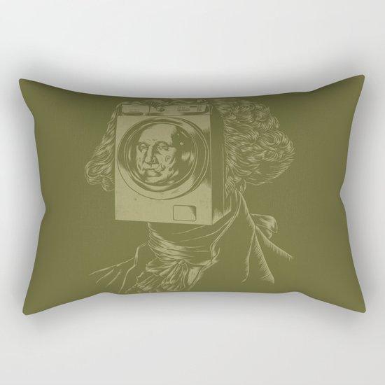 George WASHINGton Machine Rectangular Pillow