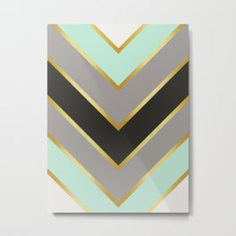 Minimalist Arrows I Metal Print
