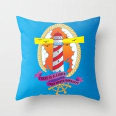 Lighthouse I Throw Pillow