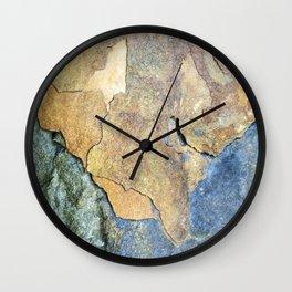 Abstract Stone Wall Clock
