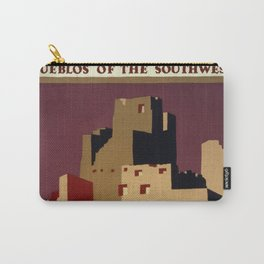 National Parks and Monuments: Pueblos of the southwest Carry-All Pouch