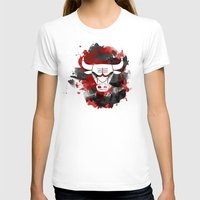 chicago bulls T-shirts featuring Bulls Splatter by OhMyGod, SoGood!