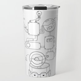 How the creative brain works? Travel Mug