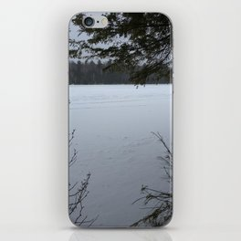 Winer Thought the Trees iPhone Skin