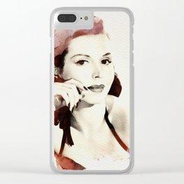Ann Miller Clear iPhone Case