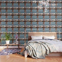 Cherry Blossoms at the Jefferson Wallpaper
