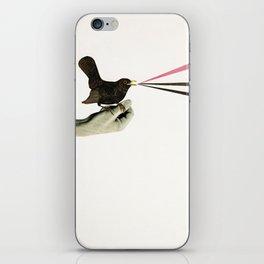 Bird in the Hand iPhone Skin