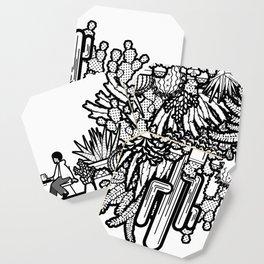 Chai and Cacti Coaster