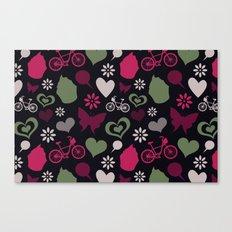 I Heart Patterns #008 Canvas Print
