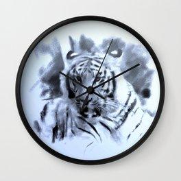 Animals and Art - Tiger Wall Clock