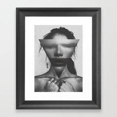 The dimension of her soul Framed Art Print