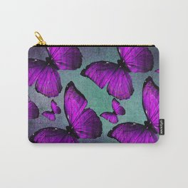 BUTTERFLY PURPLE Carry-All Pouch