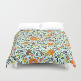 Cute Rainforest Pattern Duvet Cover