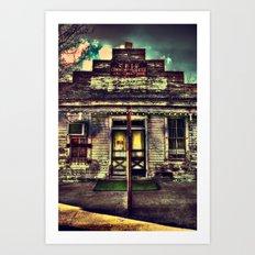 Cele Store 2  Art Print