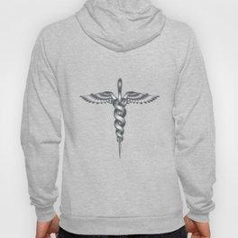 Caduceus Medical Symbol Hoody