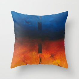 Hidden Craze Throw Pillow