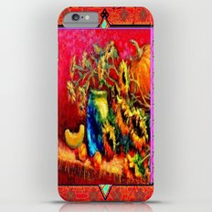 Cantaloupe & Sunflowers Western Style Harvest Painting iPhone 6 Plus Slim Case