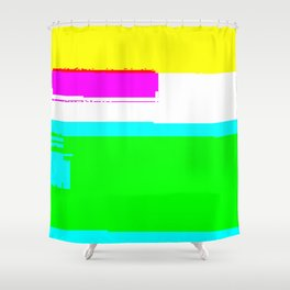 Unstable child Shower Curtain