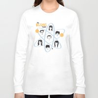 big bang Long Sleeve T-shirts featuring The Big Bang Theory by Marcelo Badari