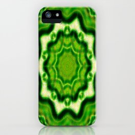 WOOD Element kaleido pattern iPhone Case