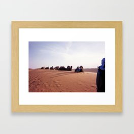 State of Permament Chill Framed Art Print