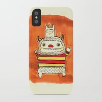 wild things iPhone & iPod Cases featuring Wild things by Maria Jose Da Luz
