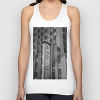 radio Tank Tops featuring Radio City by MikeMartelli