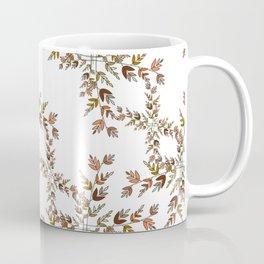 Elegant lace autumn pattern Coffee Mug