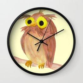 the nice owl Wall Clock